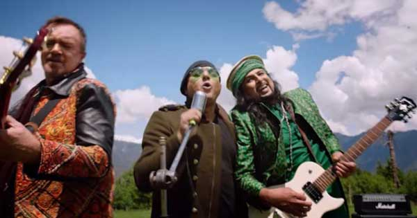 Salman Ahmed, Ali Azmat and Brian
