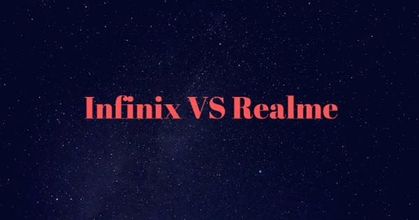 Realme Vs Infinix
