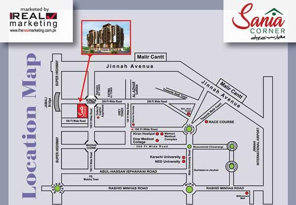 saima corner location