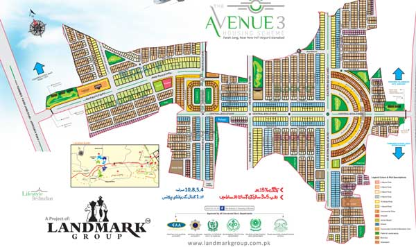 The-avenue-3 Map