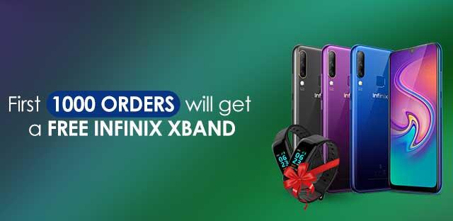 infinix free xband