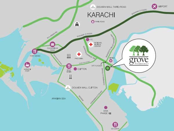 Grove-residency-location