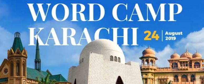WordCamp Karachi 2019