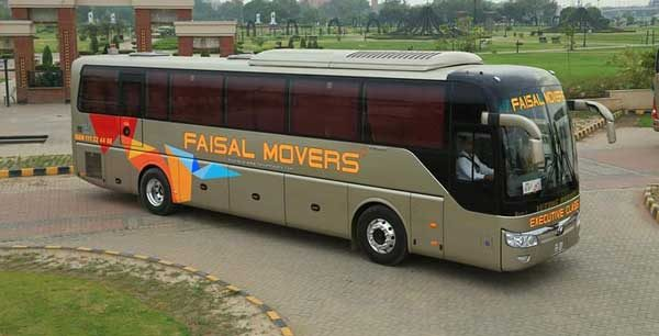 Faisal Movers fleet