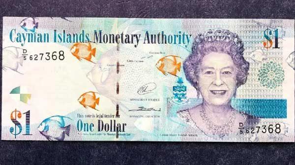 Caymanian dollar currency