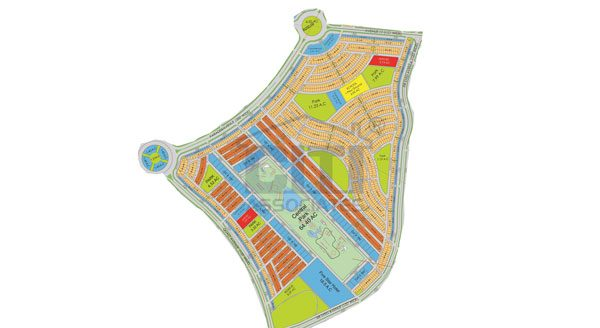 Bahria-Central-Park-Apartment-map