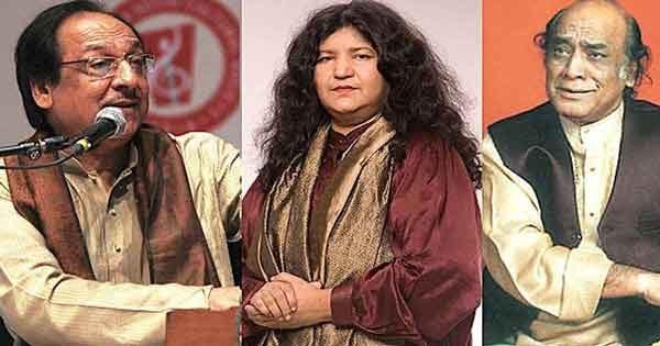 Mehdi Hassan, Ghulam Ali, Abida Parveen