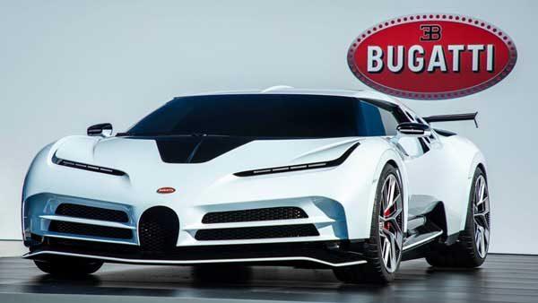 Bugatti-car