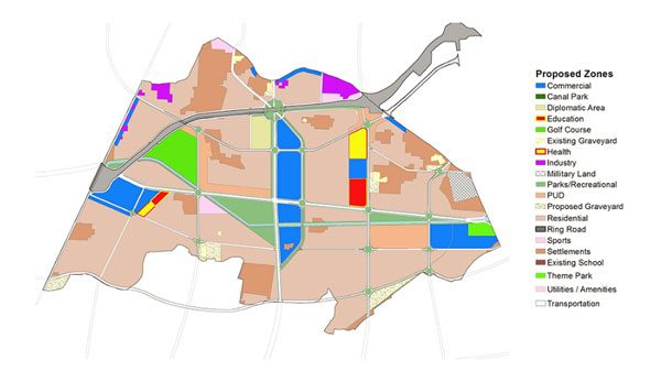 LDA City plan