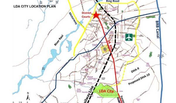 LDA-City-location