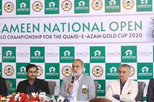 Zameen polo championship press conference
