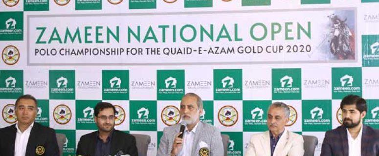 Zameen polo championship press conference