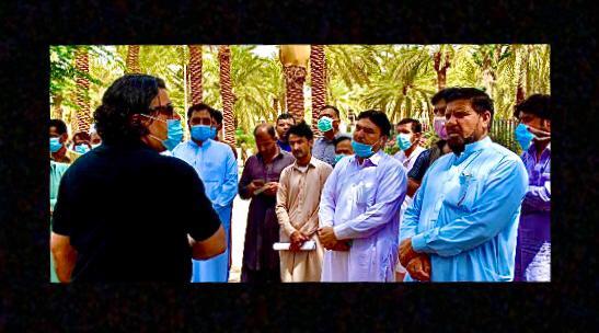 Pakistani Men in Saudia Arab